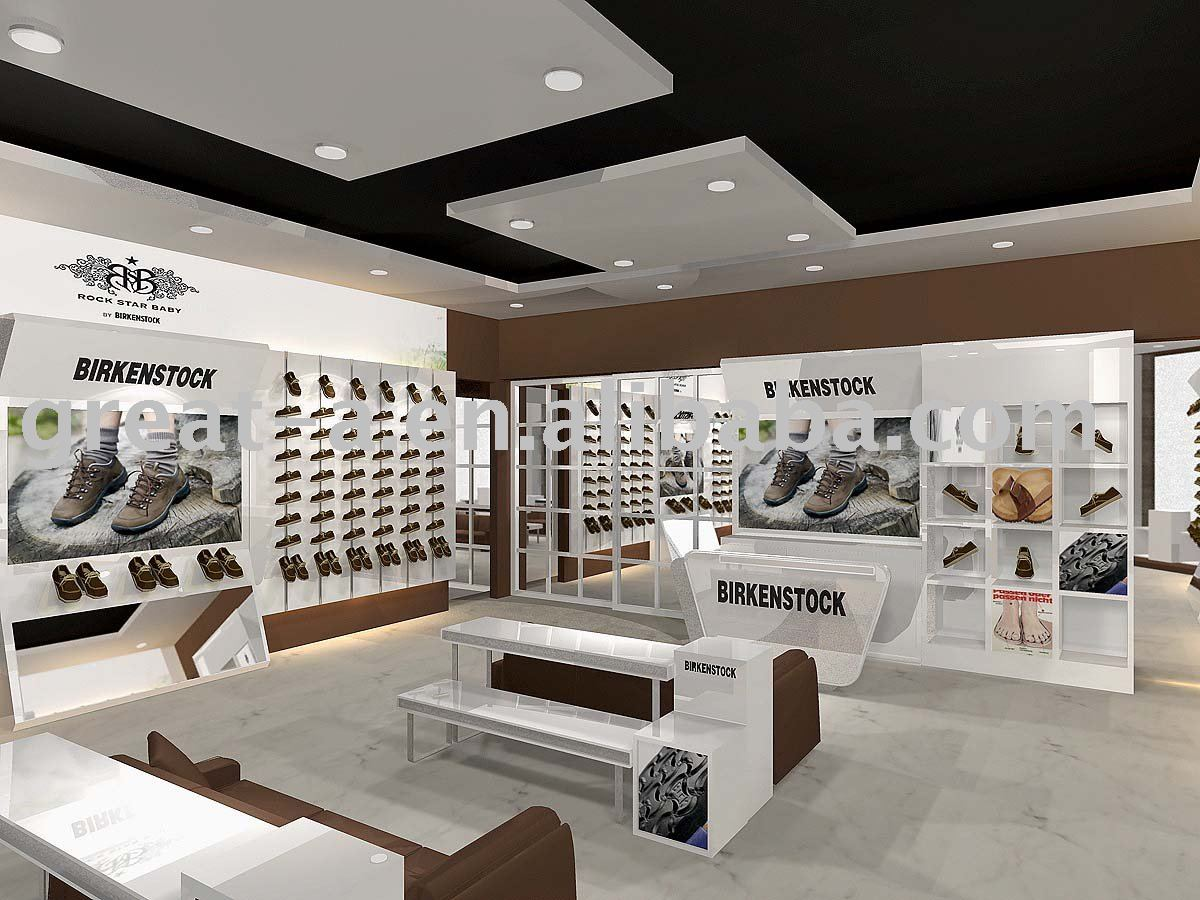 Foot wear best retail software for Retail store exterior design