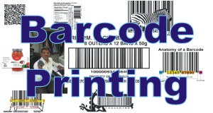Barcode Printing & Labelling Solution Software with QR Code UPC EAN Codes