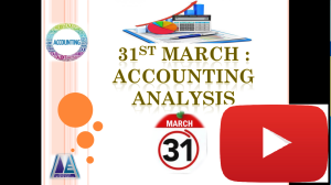 Accounting Analysis Reports | SuperERP