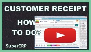 Quick Receipt | SuperERP
